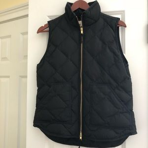 J Crew Down Puffer Vest